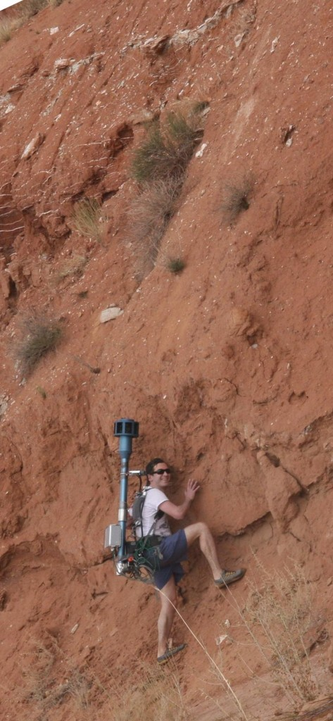 Rock Climbing With Eyesis