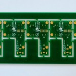 10385 Power supply board, top side
