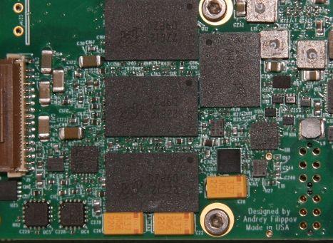 10393 board, memory side