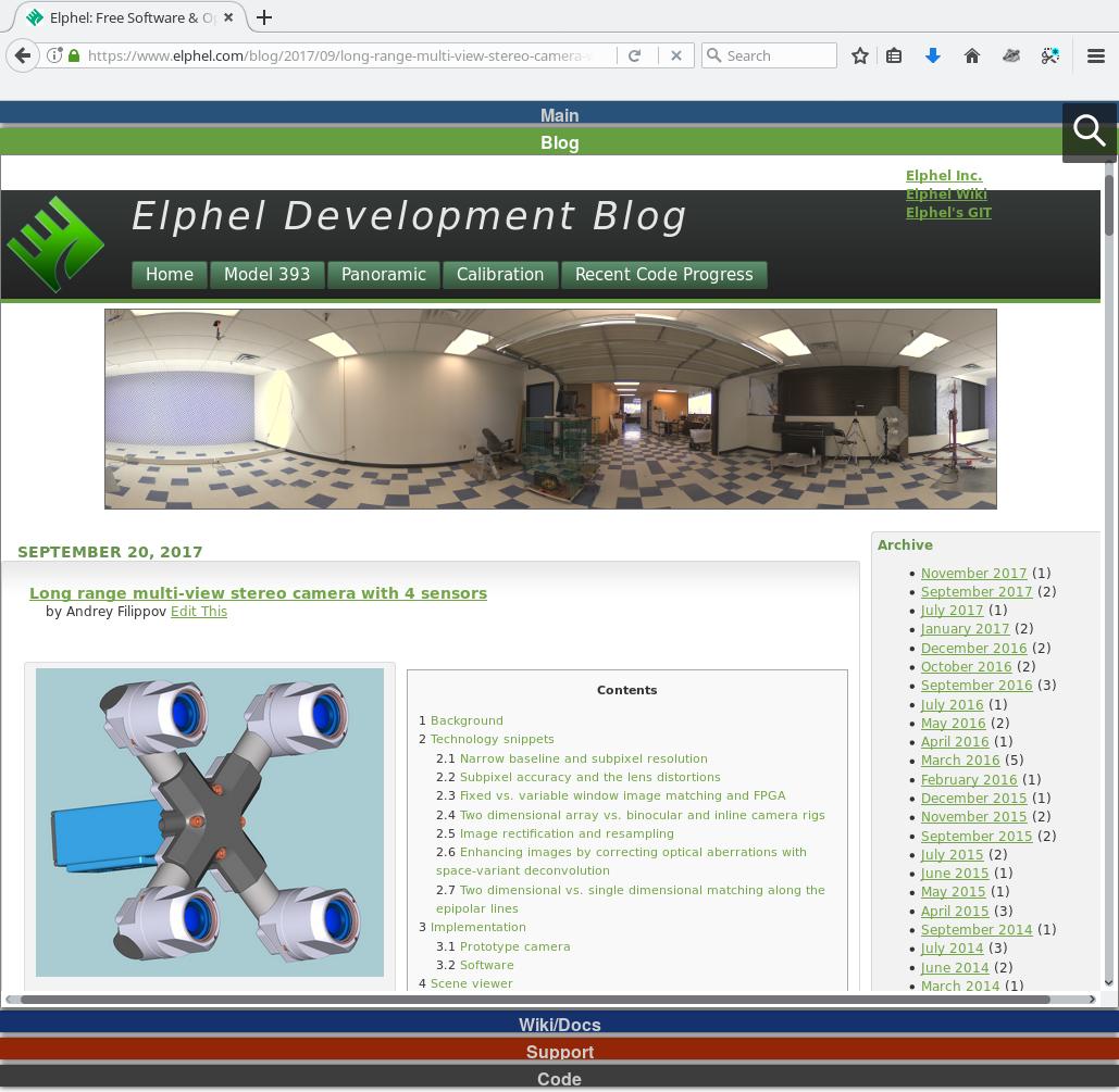 Elphel Development Blog | www3 elphel com