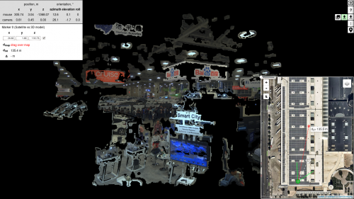 3D model view of CVPR 2018, made by Elphel 3D X-Camera